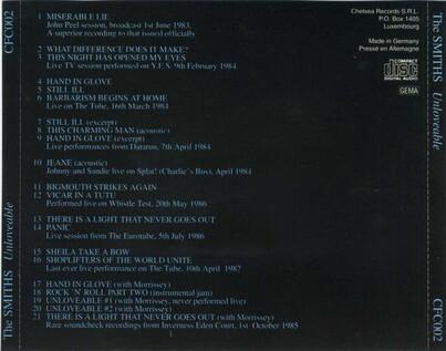 Le Choix des lecteurs # 133: The Smiths - Unloveable