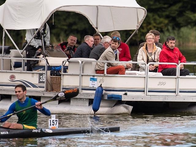 Frederik et la canoë kayak