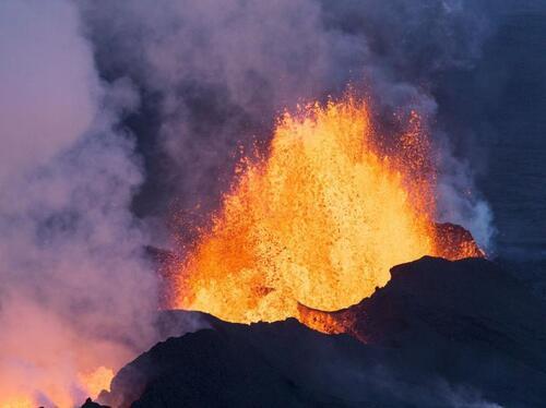 L'Etna en eruption