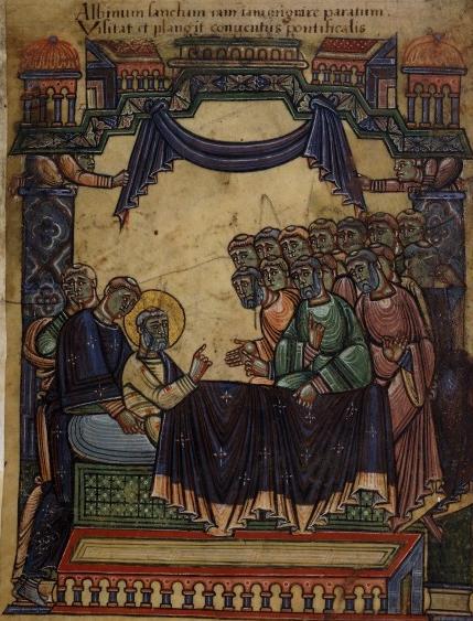 Saint Aubin d'Angers, Abbé de Tincillac puis évêque († 550)