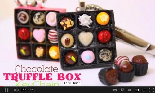 Tutos St Valentin boîte de chocolat Toni Ellison