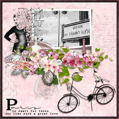 La Parisienne by dentelle scrap