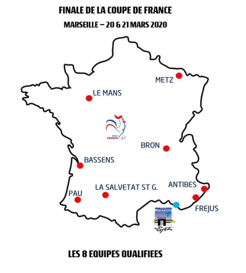 LA SALVETAT ST GILLES EN 1/4 FINALE CDF 2019/2020