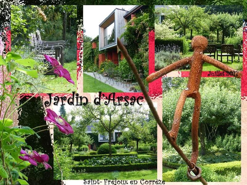 Le jardin d'Arsac
