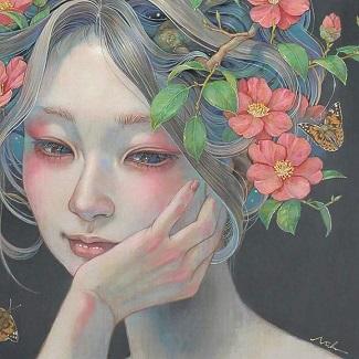 Coeur en fleur ...
