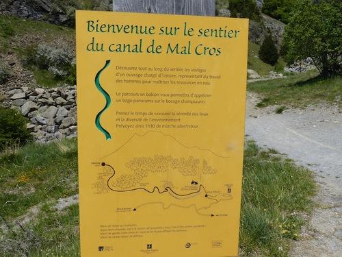 Canal de Malcros (Chaillol)