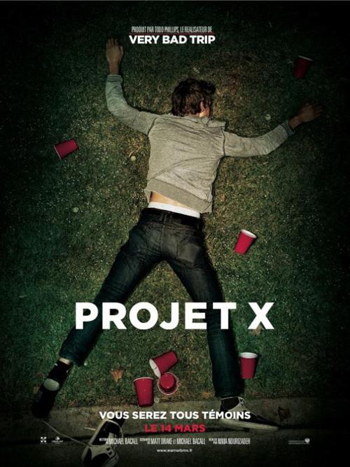 """Bonsoir, a l'honneur : """" Projet x """""""