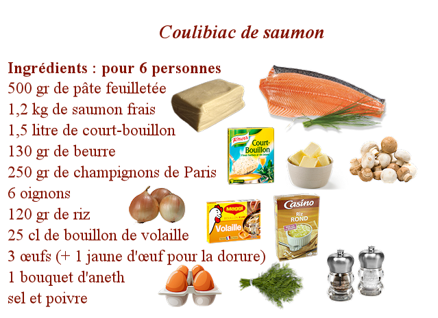 Coulibiac de saumon