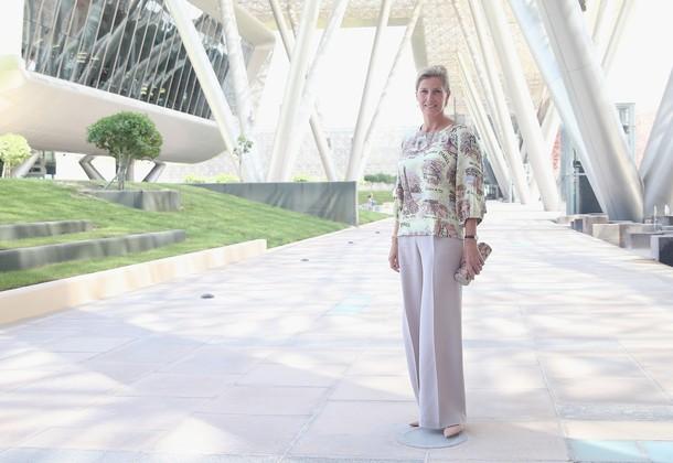 Sophie à Doha