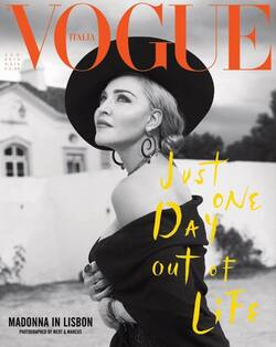 Madonna par Mert and Marcus pour VOGUE Italia