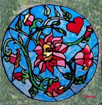 femme-fleur