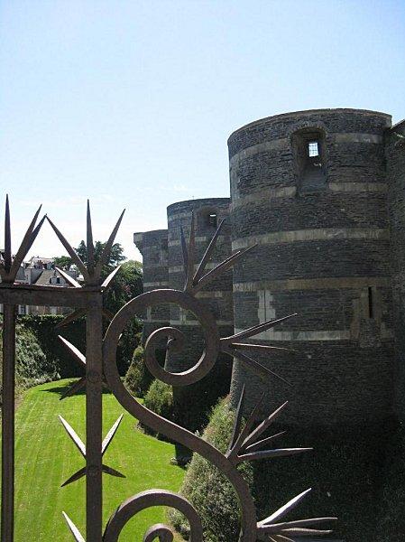 château d'Angers - détail
