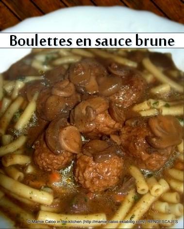 Sauce brune dite demi-glace