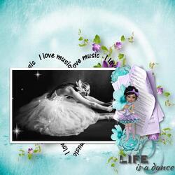 L'amour de la danse