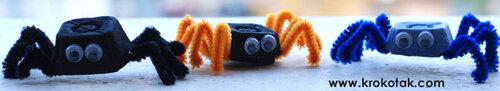 Des mini araignées