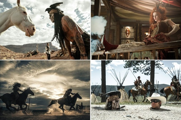 [Blu-ray] Lone Ranger, Naissance d'un héros