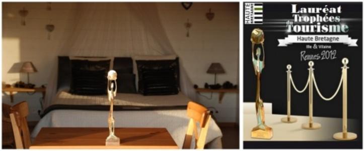 Présentation cabane de la bourousais à Maure de Bretagne