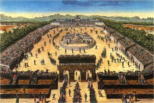Fête nationale - Fête de la Fédération - Culte de la Raison et de l'Etre suprême