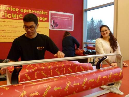 Photos emballage cadeaux Picwic 2015
