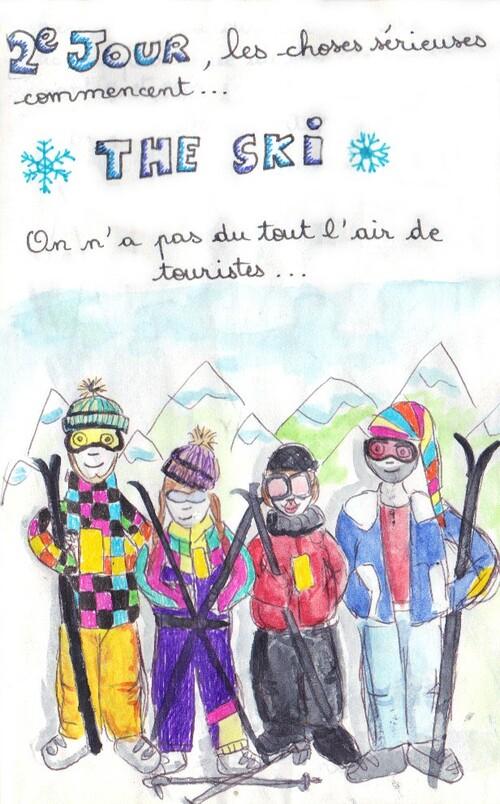 Vacances au ski - 2e jour