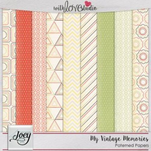 """My vintage memories"" chez JOEY"