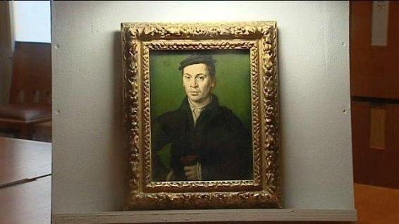 Homme au béret noir tenant une paire de gants ... une oeuvre de Corneille de Lyon © DR