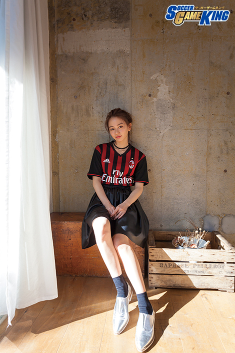 WEB Magazine : ( [SOCCER GAME KING ( COVER GIRL MODEL )] - 2017 / Vol.63 : Maika Yamamoto )