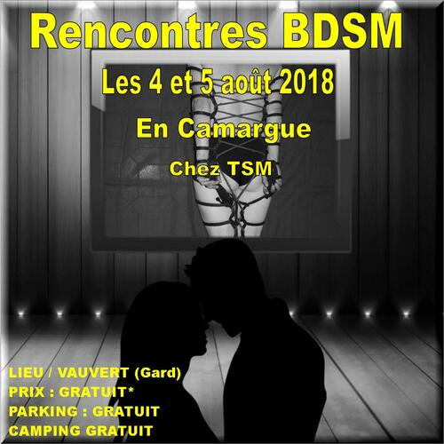 Week-end de rencontres BDSM Août 2018