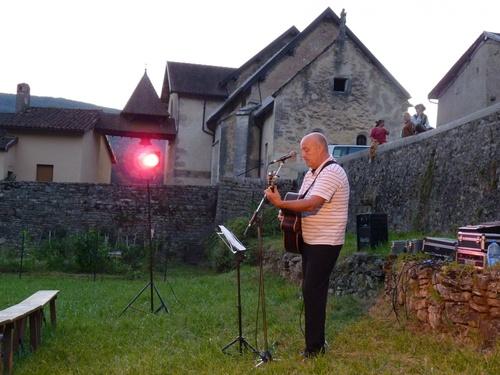 Hommage à Geoges Brassens à Germagnat
