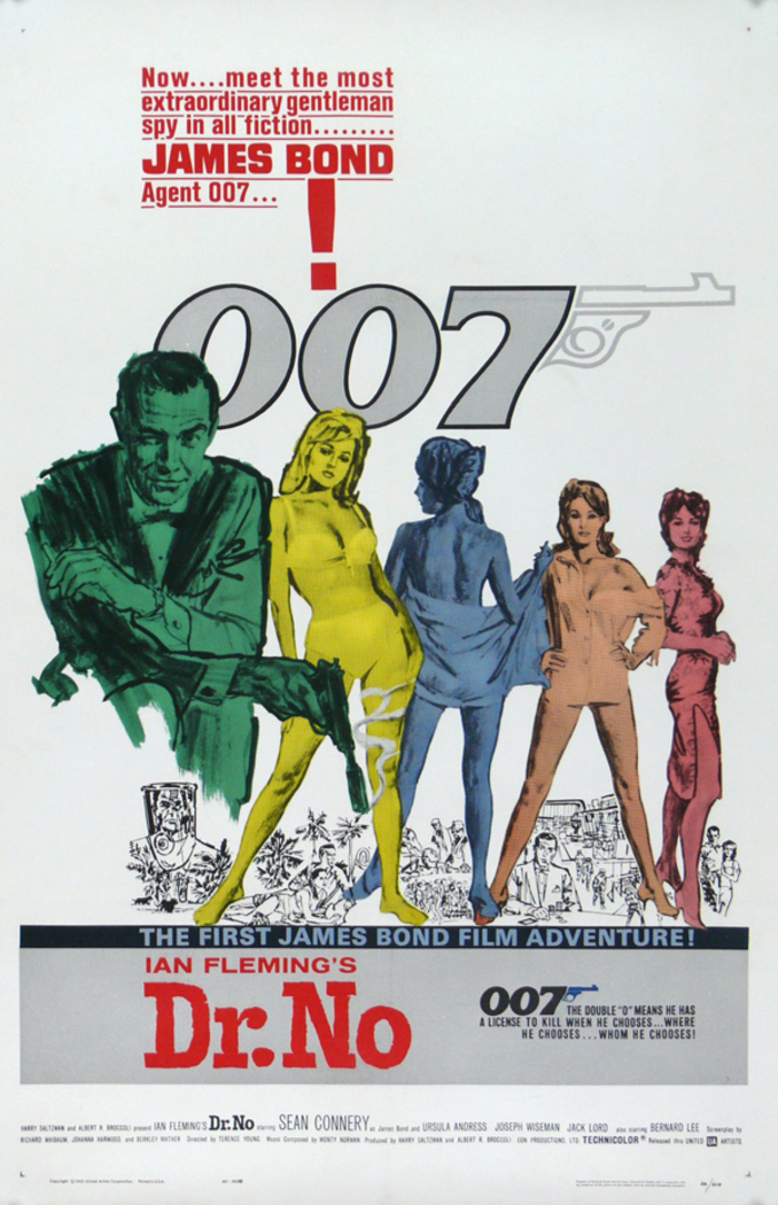 Posters – James Bond contre Dr. No