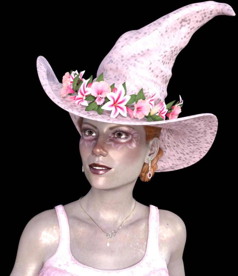 Tube de portrait femme sorcière (image)