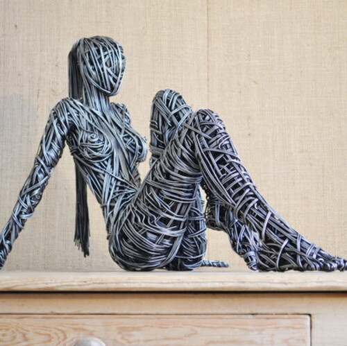 Les sculptures en torsades filaires de Richard Stainthorp