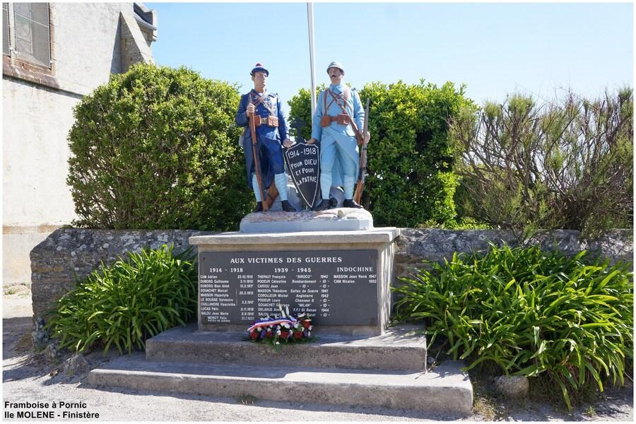 Ile de Molène - monument aux morts