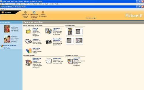 étape 4 ouvrir logiciel retouche immages