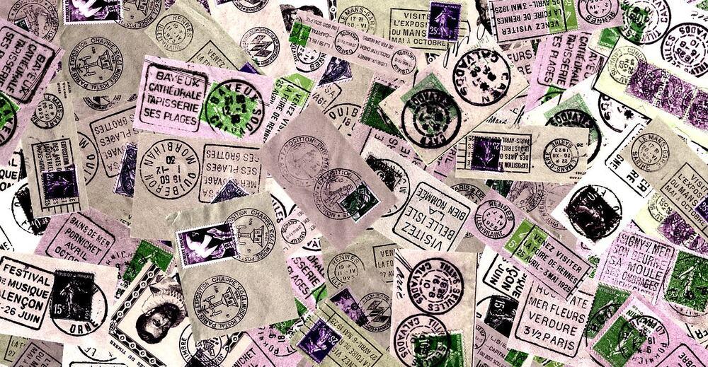 Fonds papiers/timbres