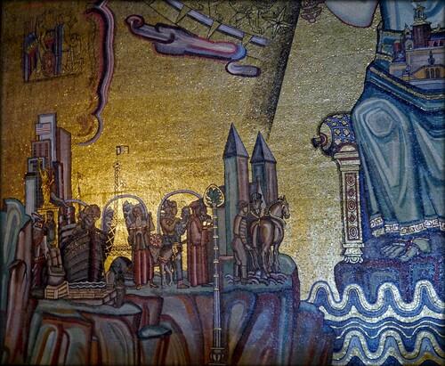Einar Forset n° 4 Mozaîque de la salle d'or (Golden room)