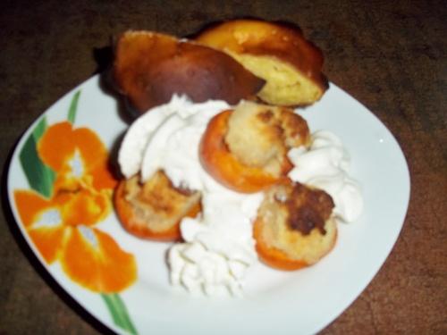 Abricots farcis aux amandes