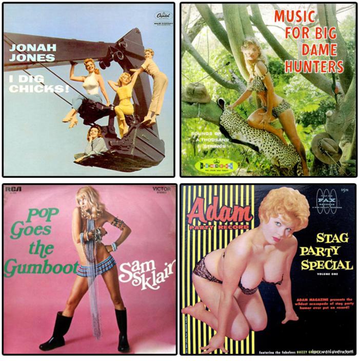 Pochette album musique année 50 et 60