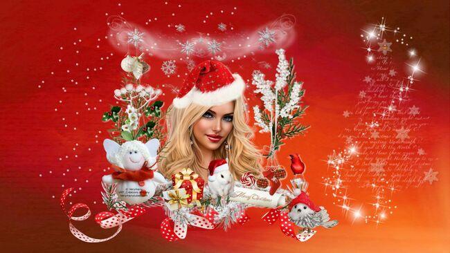 Super Tag de Noël + Cluster + Fond 4