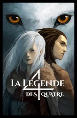 La légende des 4, tome 1 : Le clan des loups- Cassandra O'Donnell