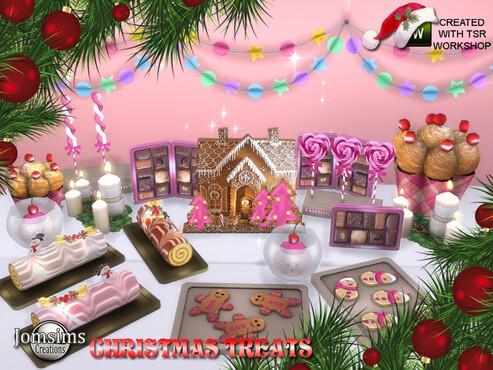 Mega sélection de CCs Sims 4 | Préparons Noël !