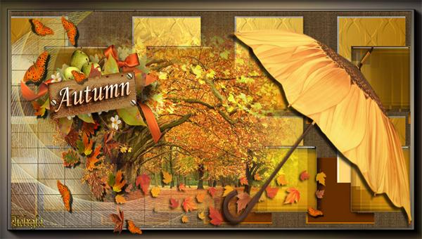 Layout Beautiful Autumn