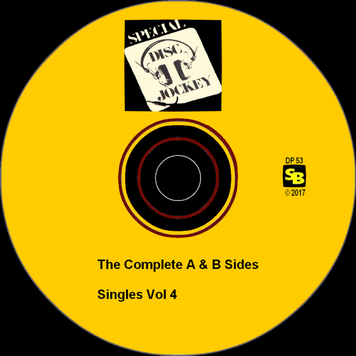 "Various Artists : CD "" Special Disc Jockey : The Complete Singles Vol 4 "" SB Records DP 53 [ FR ]"