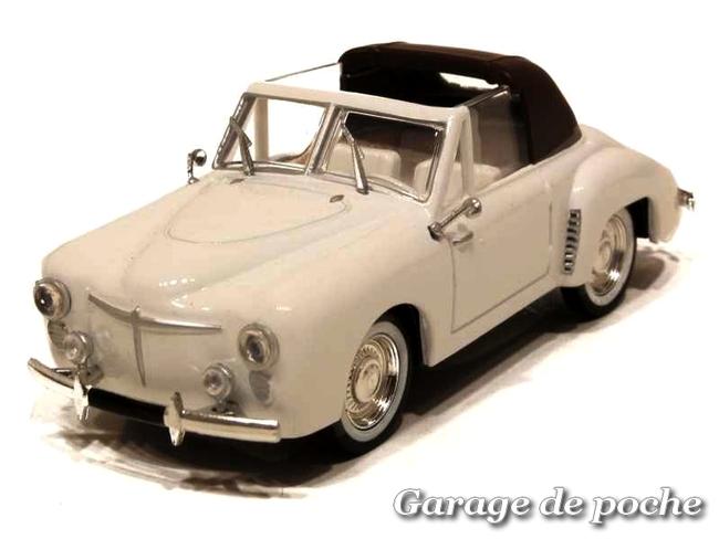 RENAULT 4CV CABRIOLET DURIEZ à la Milord 1950
