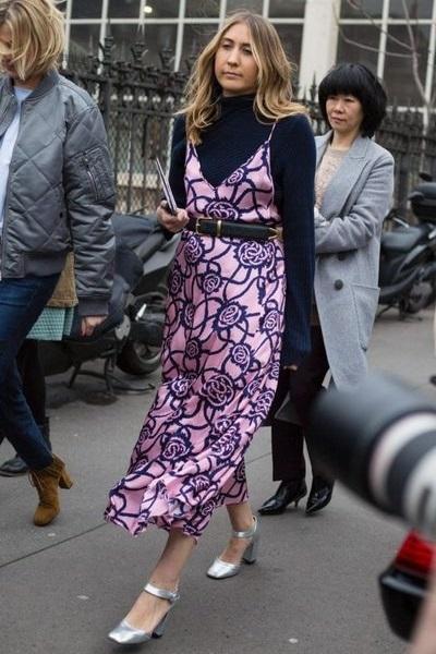 Como usar vestido florido