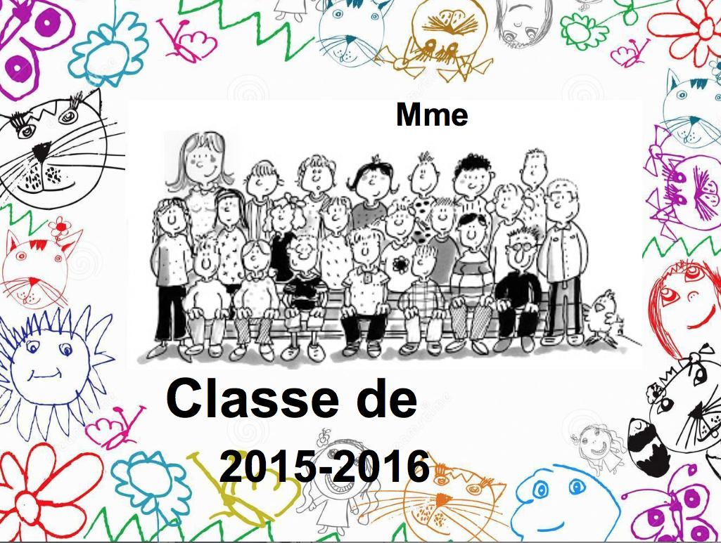 Top Affichettes de portes - La classe de Frisettes JJ76