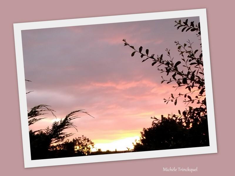 Le ciel au matin des 7 et 8 juin....