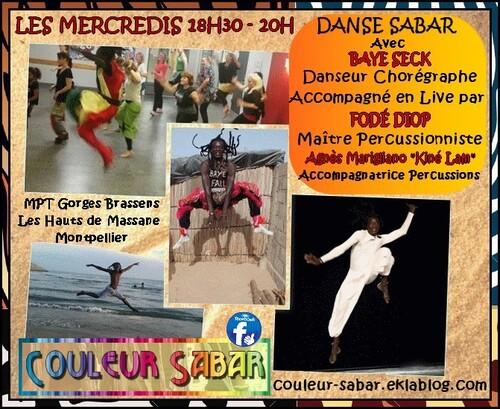 """★ Cours Danse Sabar """"Traditionnel & Moderne"""""""