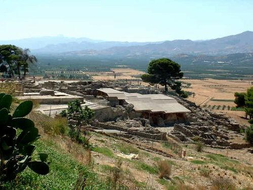 Gortyne et Festos en Crète (photos)