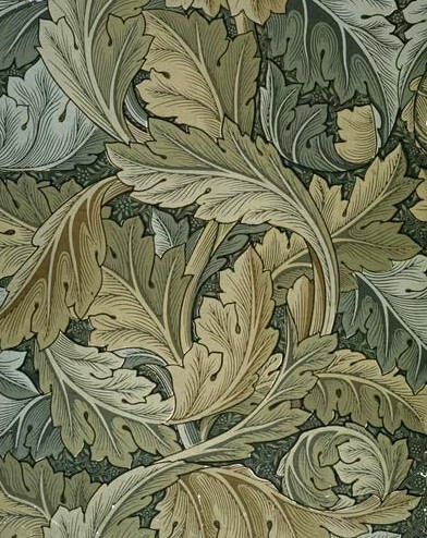 Morris Acanthus Wallpaper 1875